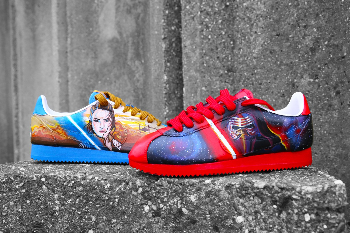 S. x Nike Cortez 'The Last Jedi' Customs