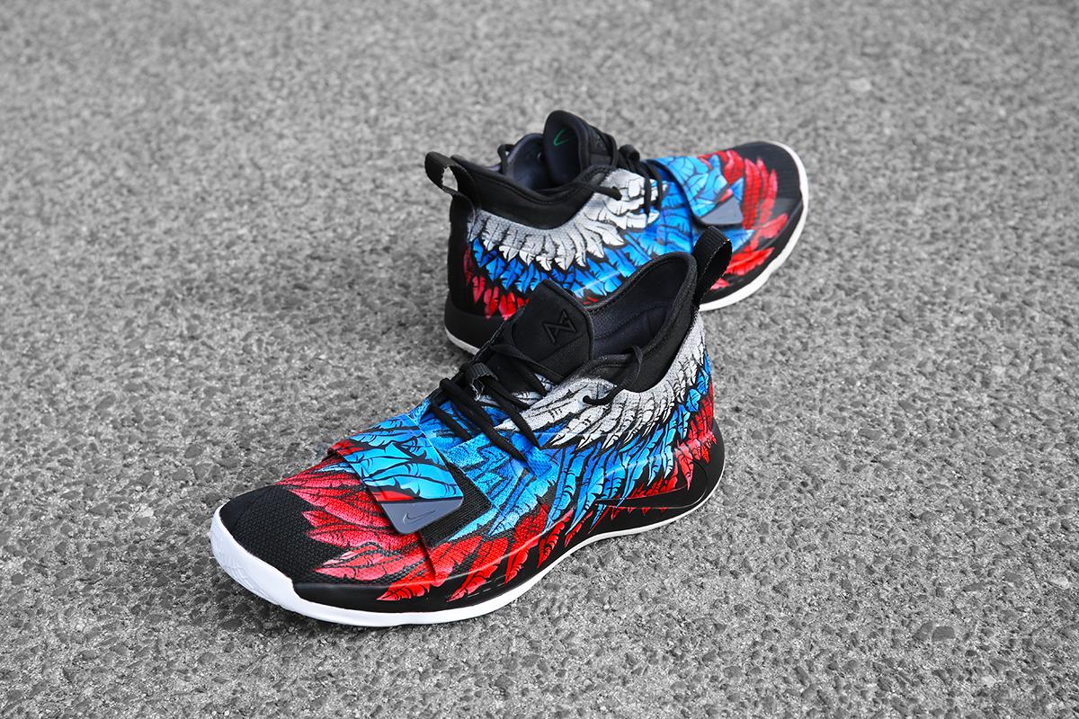 "new product 2e56d 8a815 Bogdan Bogdanovic' OneOfAKind Nike PG 2.5 ""Кући"" Customs ..."